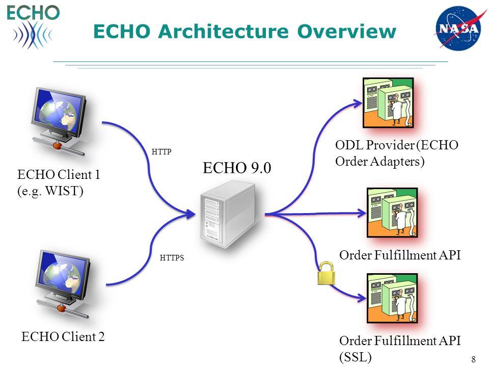 ECHO Architecture Overview 8 ECHO Client 1 (e.g.