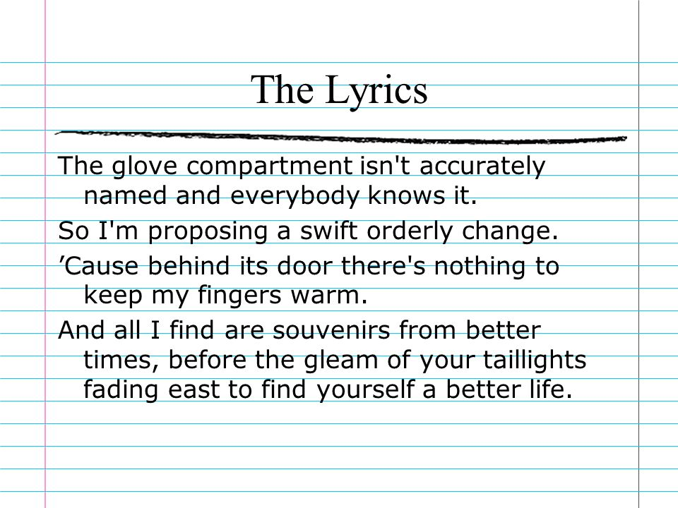everybody knows lyrics
