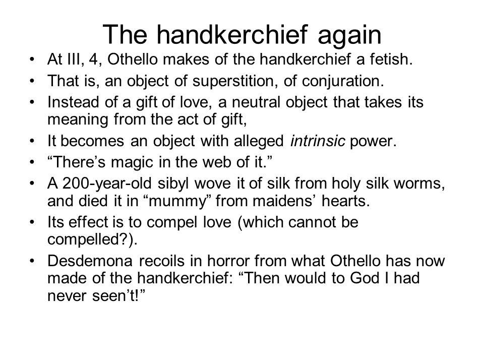 Othello Handkerchief Essay
