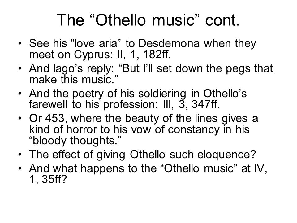 coleridge essay on othello