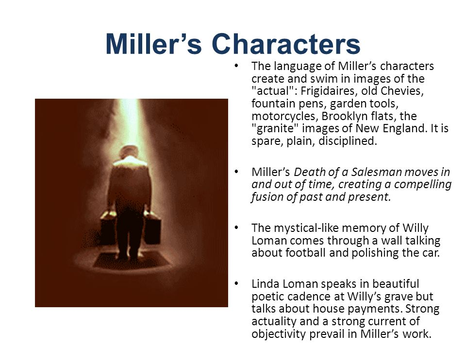 an analysis of the themes in death of a salesman by arthur miller An analysis of major characters - let studymodecom get you up to speed on key information and facts on death of a salesman by arthur miller.