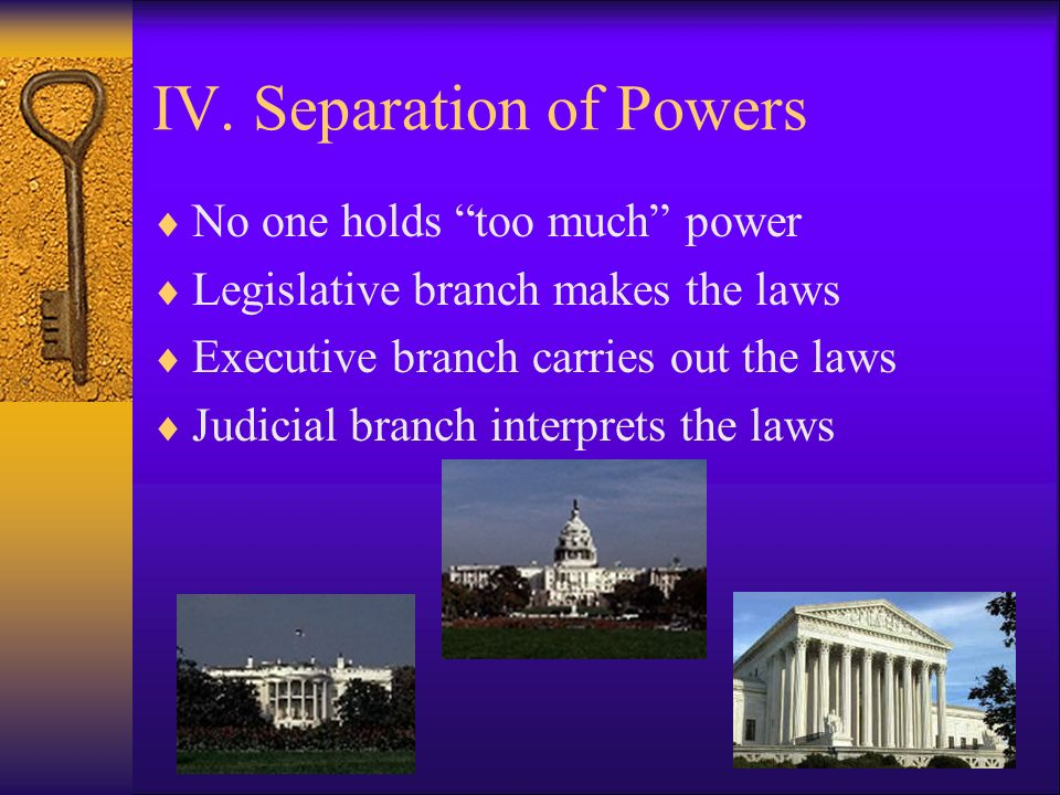 Powers of the Government  Enumerated - a list of specific responsibilities which state the authority granted to the United States Congress.