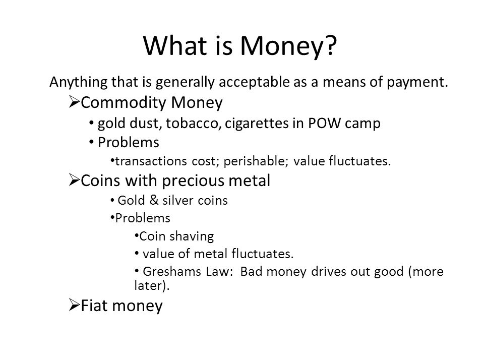 money and its functions This lesson uses real-world examples to describe the four basic functions that money serves in an economy these basic functions help to create the.