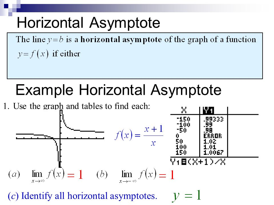 22 limits involving infinity quick review in exercises 1 4 finite limits as x the symbol for infinity does not 10 horizontal asymptote ccuart Choice Image