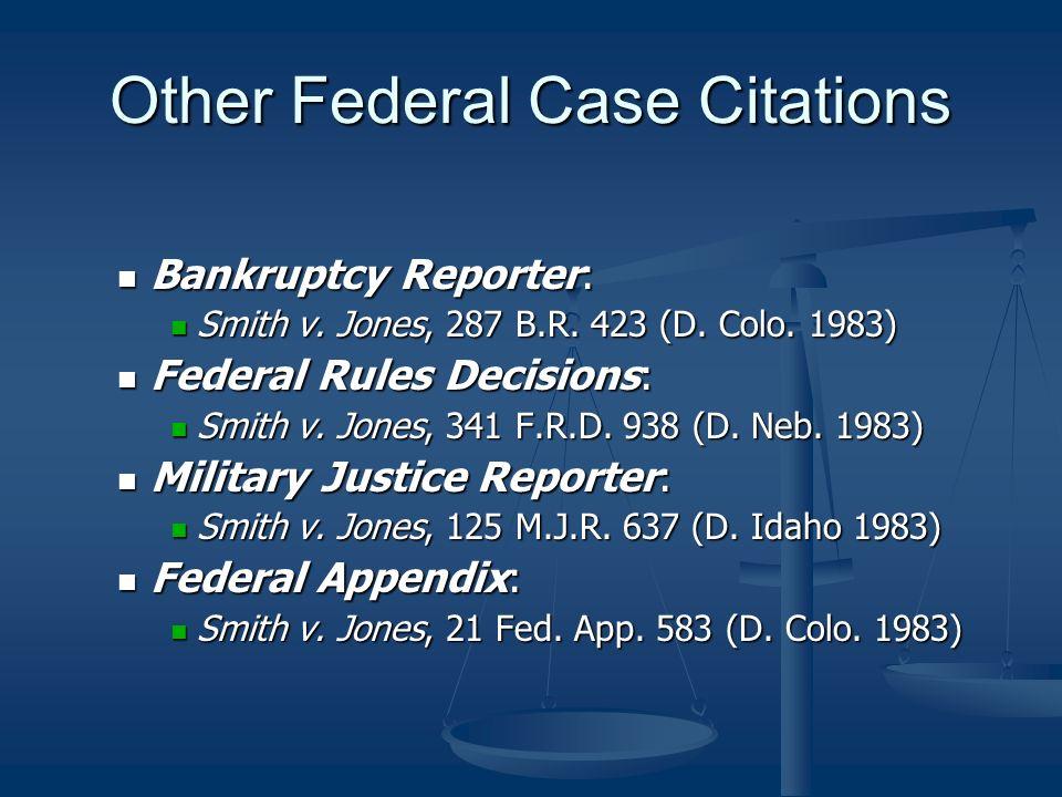 case citation