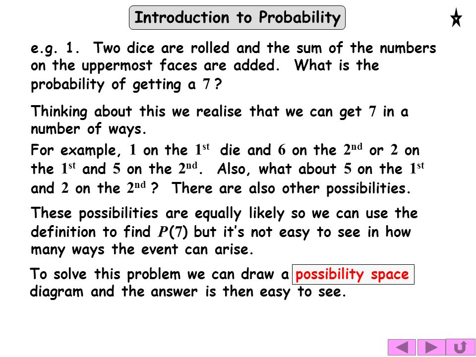 Introduction to Probability e.g. 1.