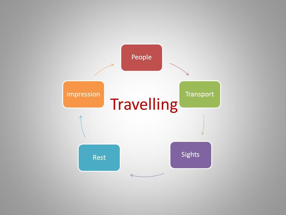 PeopleTransportSightsRestimpression Travelling