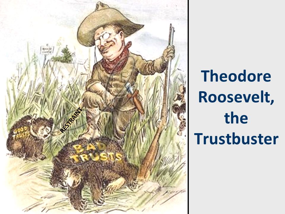 Theodore Roosevelt, the Trustbuster RESTRAINT