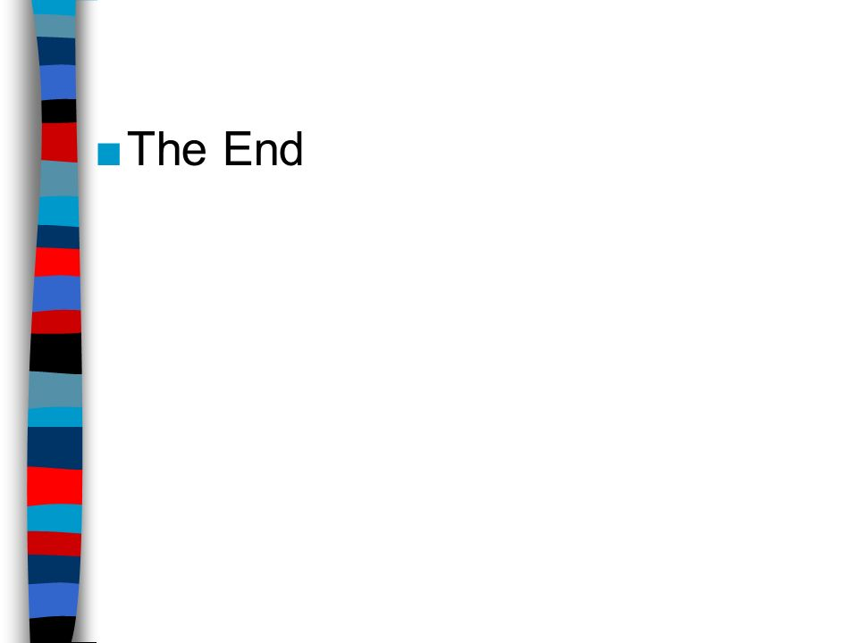 ■The End