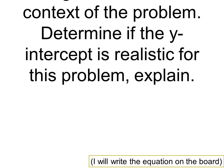 3 2 Least Squares Regression Line Describes How A