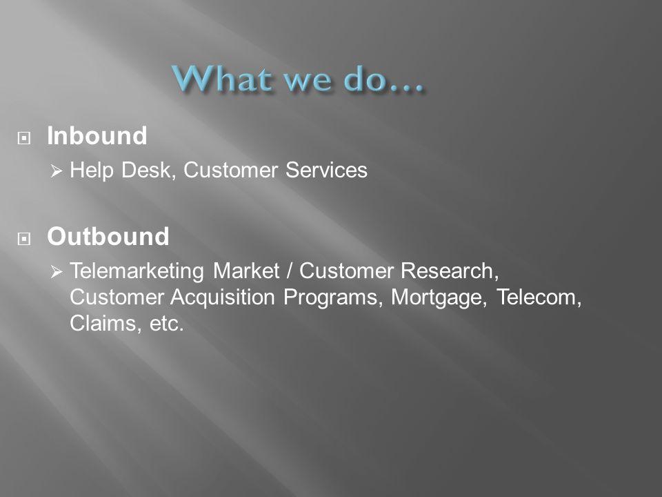 Amigo Groups. Amigo Groups provides both B2B and B2C Call Center ...
