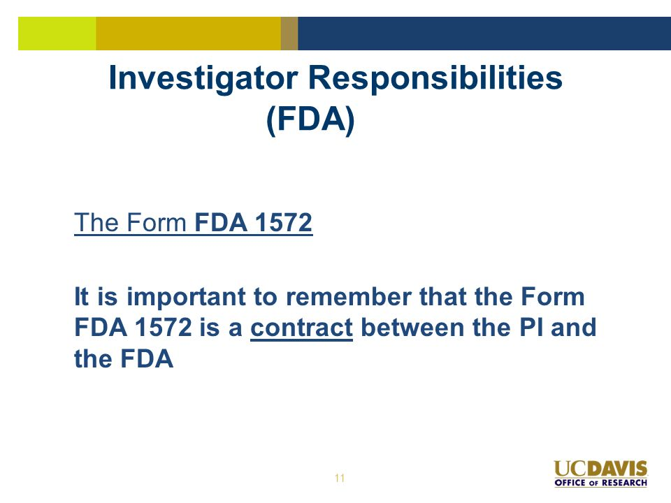 UC DAVIS OFFICE OF RESEARCH Overview of Good Clinical Practices ...