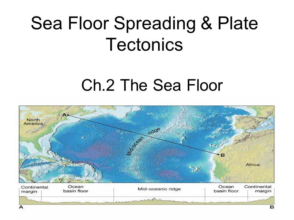 Sea floor spreading plate tectonics ch2 the sea floor ppt download 1 sea floor spreading plate tectonics ch2 the sea floor sciox Images