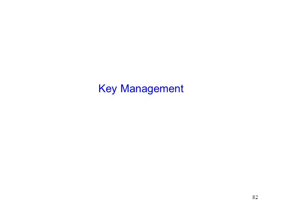 82 Key Management