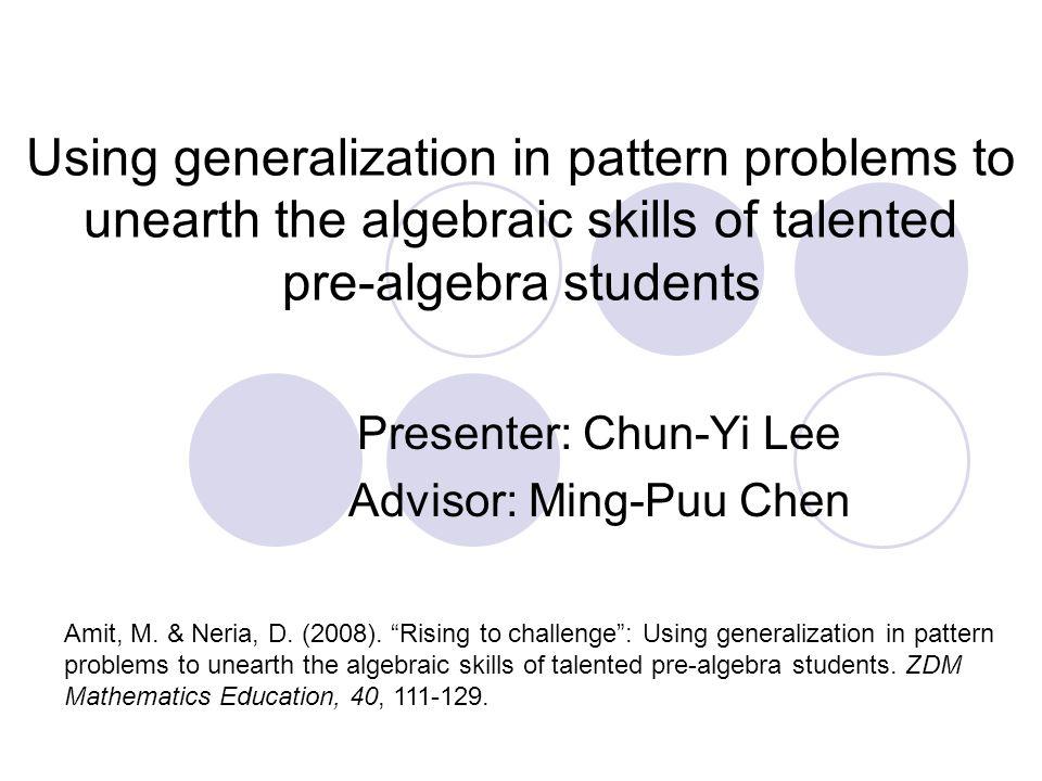 Math Problems Pre Algebra aprita – Generalization Worksheets