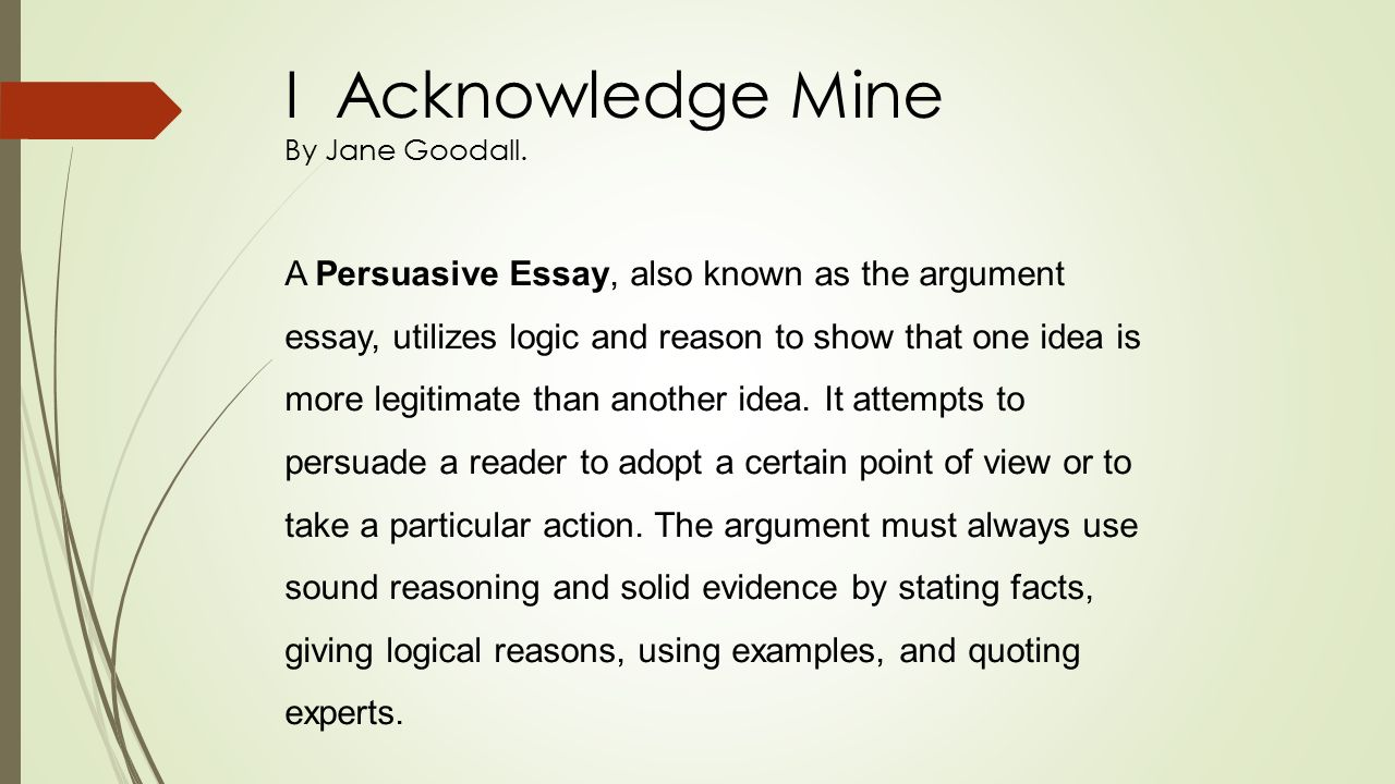 logic essay i acknowledge mine by jane goodall i acknowledge mine  i acknowledge mine by jane goodall i acknowledge mine by jane 15 i acknowledge philosophy logic essay