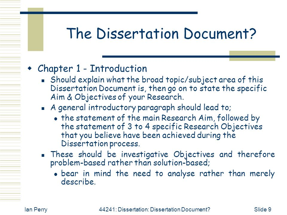 doing a dissertation introduction Thesis and dissertation guide introduction, if any the title of the thesis or dissertation in all capital letters and centered 2″ below the top of the page.