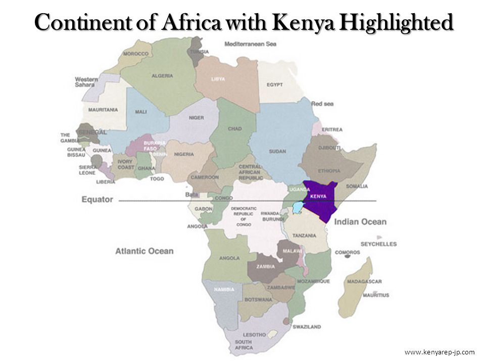 Portfolio of maps united states maps political map of continent 12 kenyarep jp continent of africa with kenya highlighted gumiabroncs Choice Image