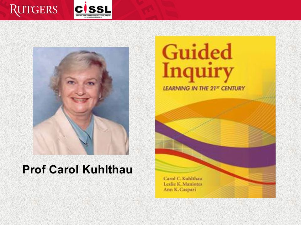 Prof Carol Kuhlthau