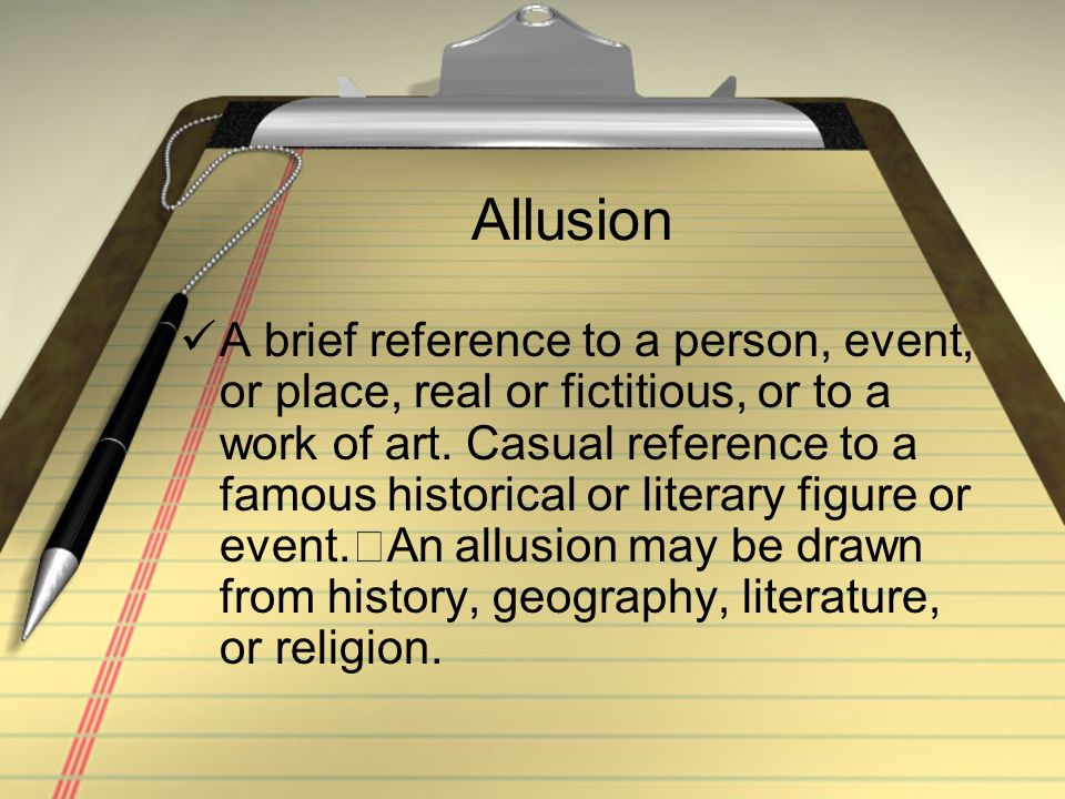 What is the purpose of using historical allusion and exprience(rhetorical technique) in an essay?