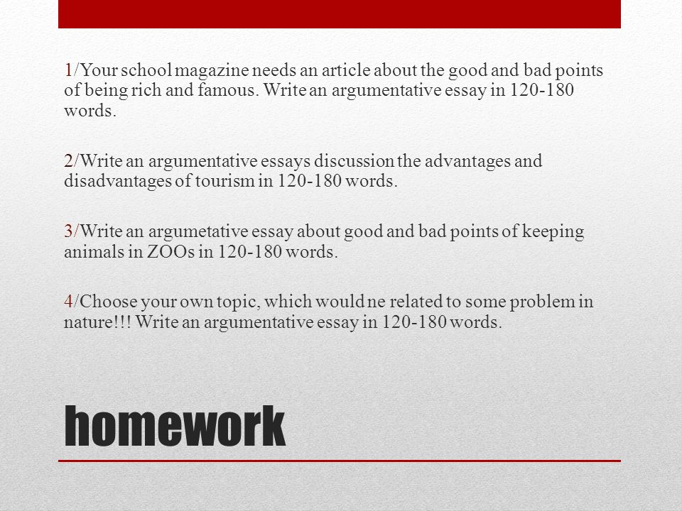 Argumentative Essay Examples For College