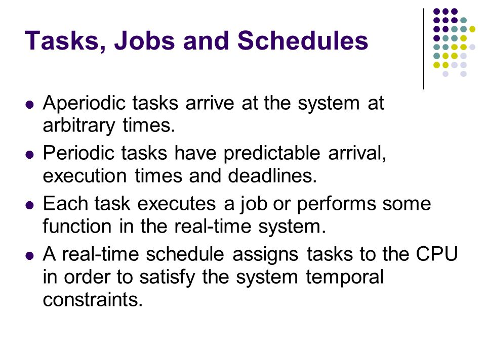 job order and scheduling system for
