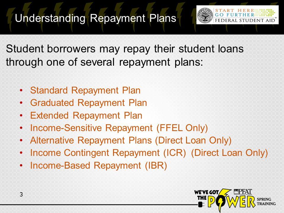 Repayment Programs Presented by FedLoan Servicing & Nelnet Loan ...