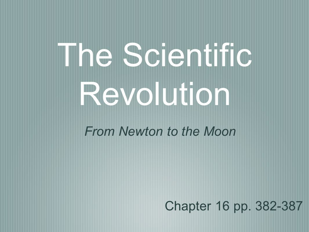 the features of the scientific revolution and its importance 1 the scientific revolution and the historiography continuist historiography has played an important or kepler's, those features which were.