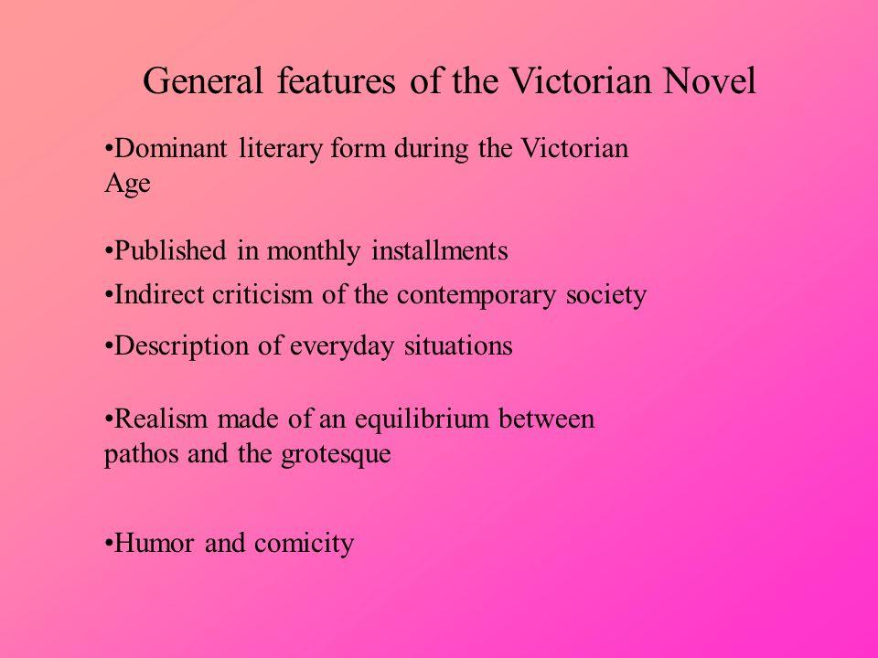 victorian novel characteristics