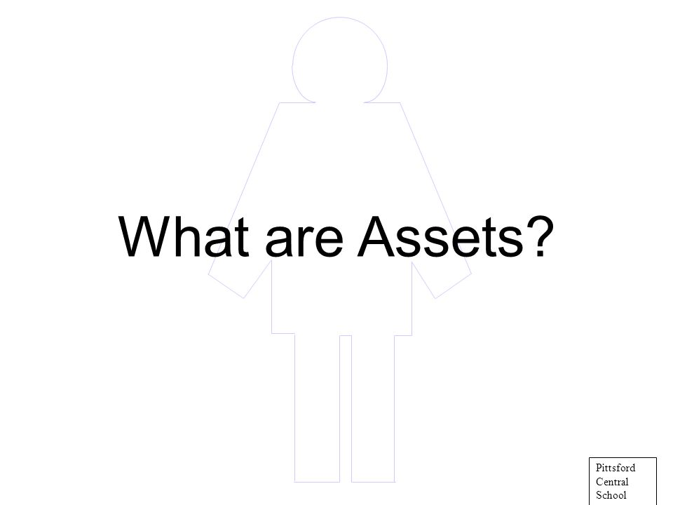 What are Assets? Pittsford Central School