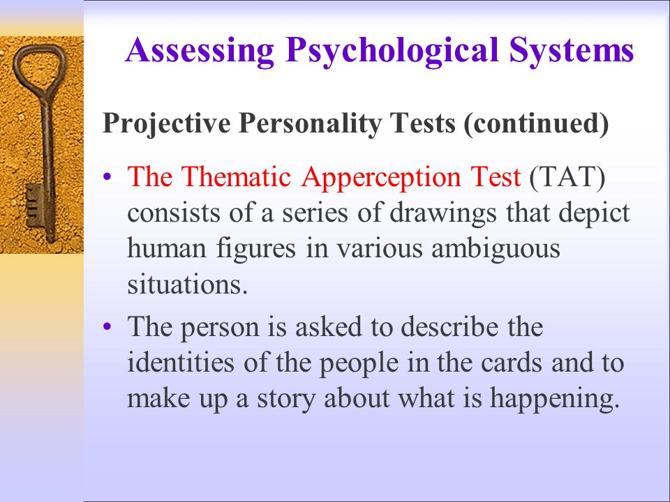 situation personality test