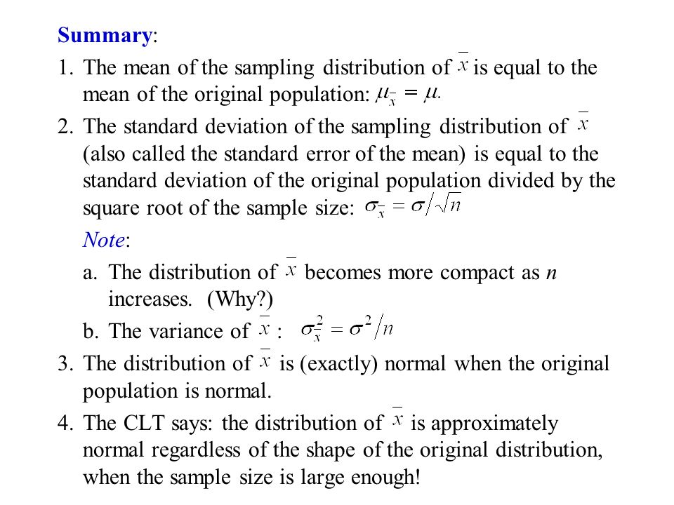 Chapter 7: Sample Variability Empirical Distribution of Sample ...