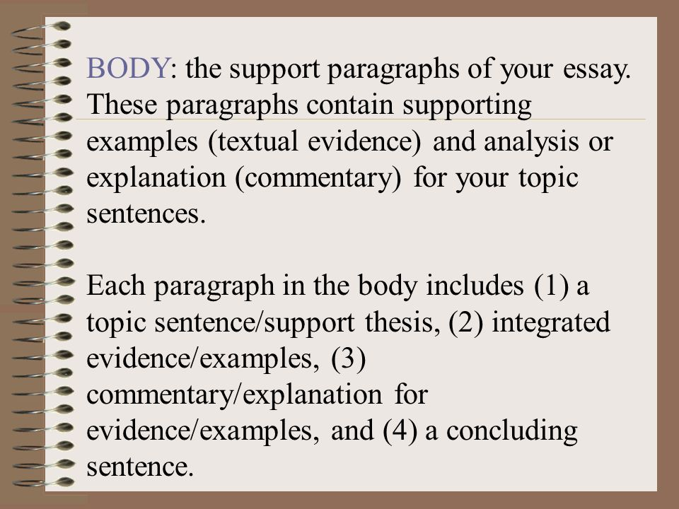 thesis sentence examples Thesis examples 1) in this passage, cohen uses many different types of strategies to portray his argument to the many different types of people all around the.
