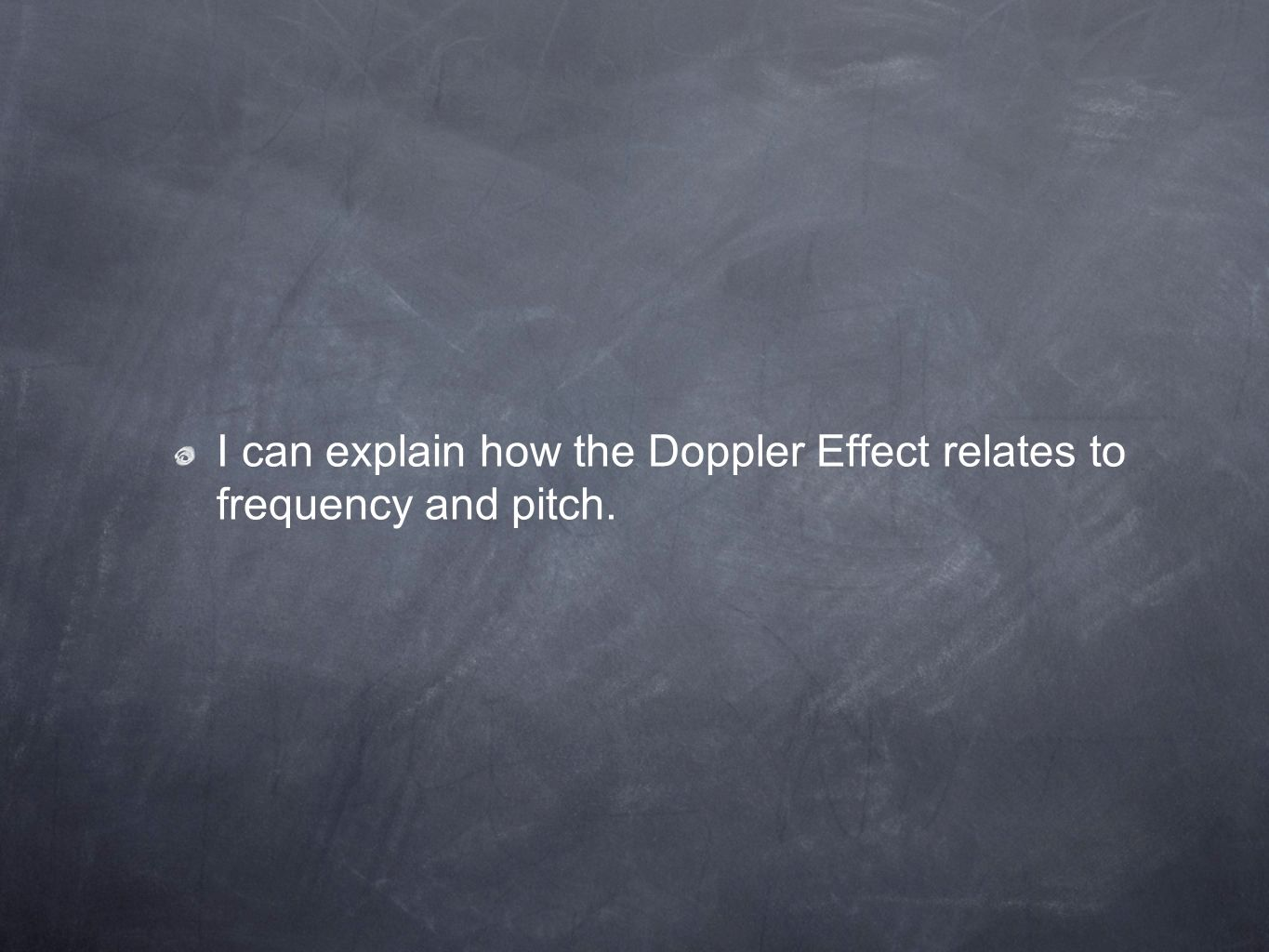 I can explain how the Doppler Effect relates to frequency and pitch.