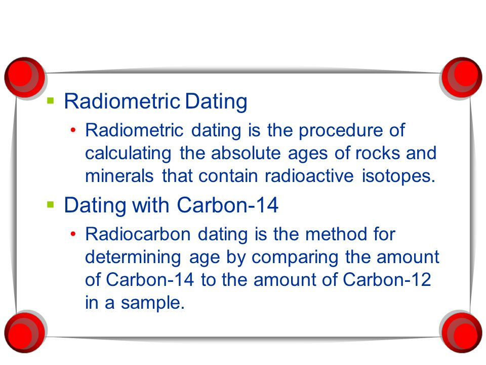 What is the process of radiometric hookup
