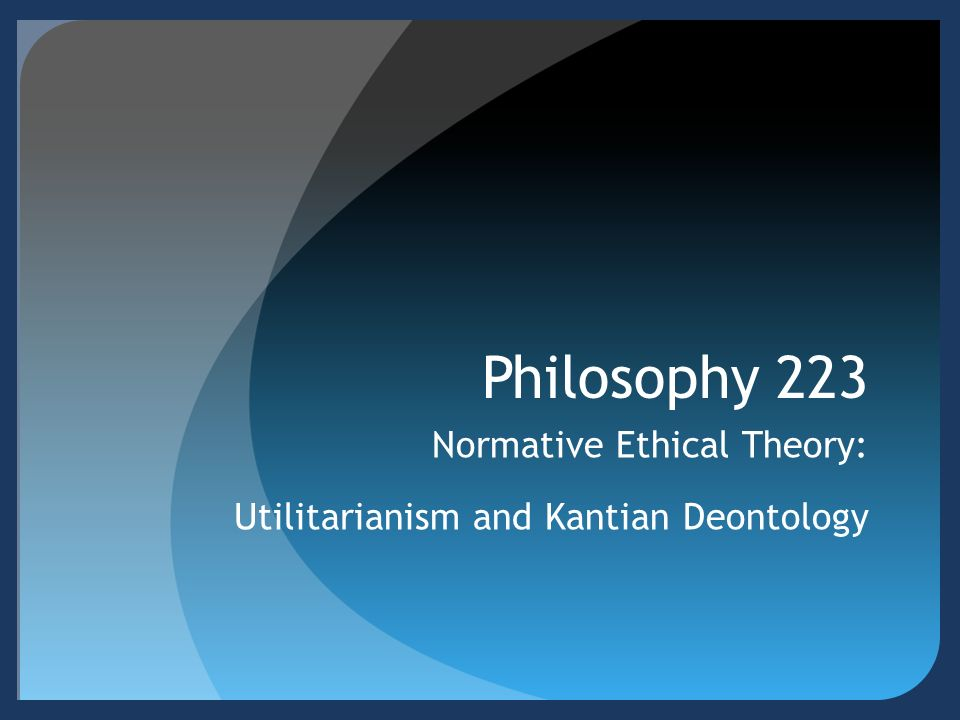 What is the difference between deontology and maximizing deontology?