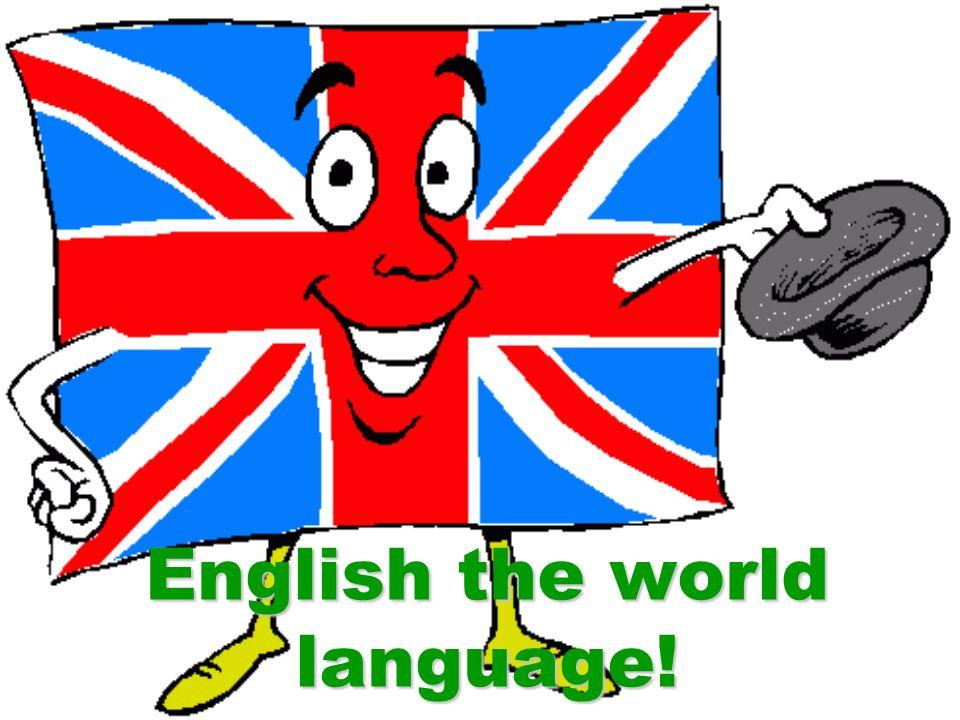 English The World Language Million People Speak English - English as a world language