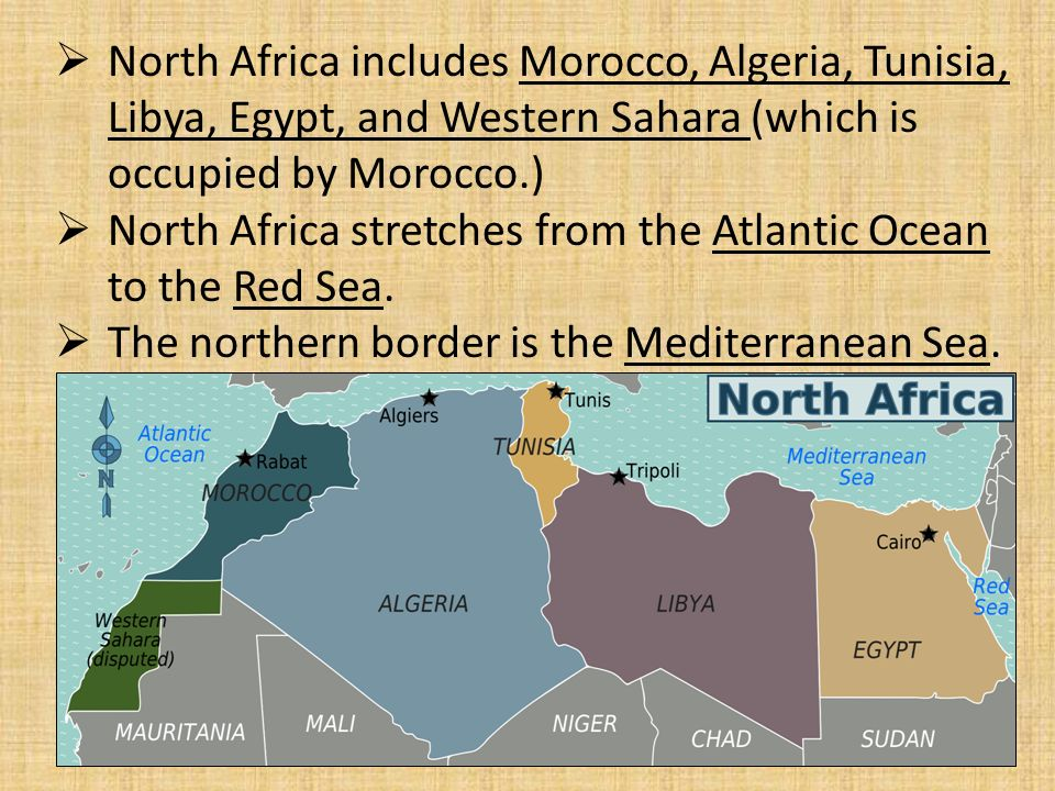 North africa chapter 21 north africa includes morocco algeria north africa includes morocco algeria tunisia libya egypt and western sciox Gallery