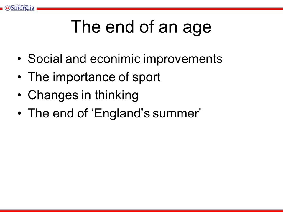 the importance of sport to our society