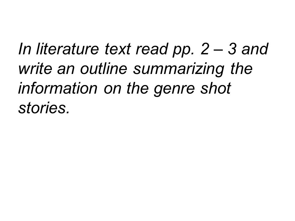 In literature text read pp.