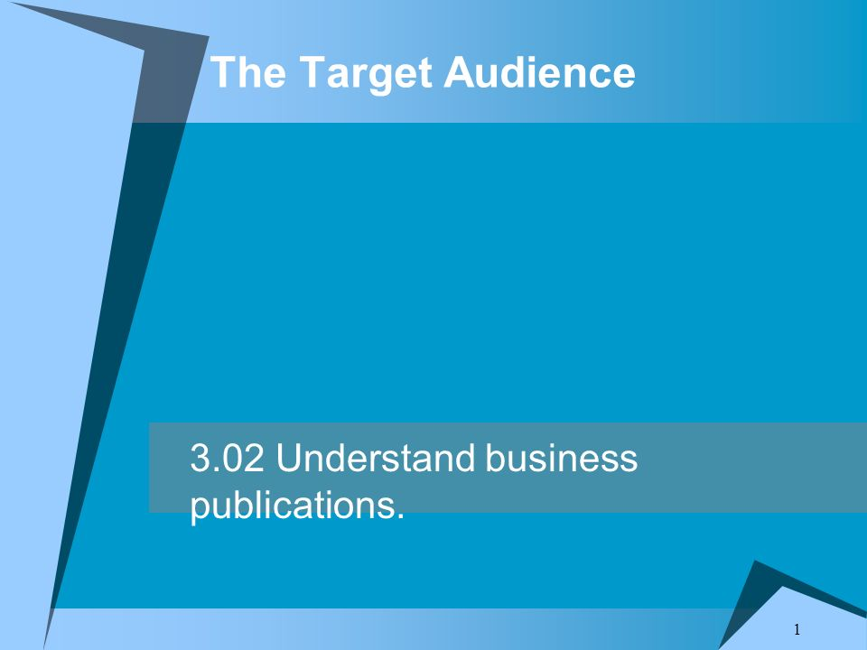 thesis targeting audience  segmentation and target market paper mkt/571 segmentation and target market paper marketing segmentation and targeting are particular important for finding customers that are the best match for a business's products and services (suttle, 2014, ¶ 2) knowledgenet enterprises llc is an industry leader in it and business skills.