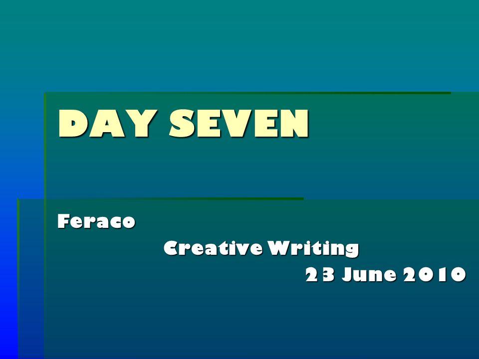 Creative Writing Characters