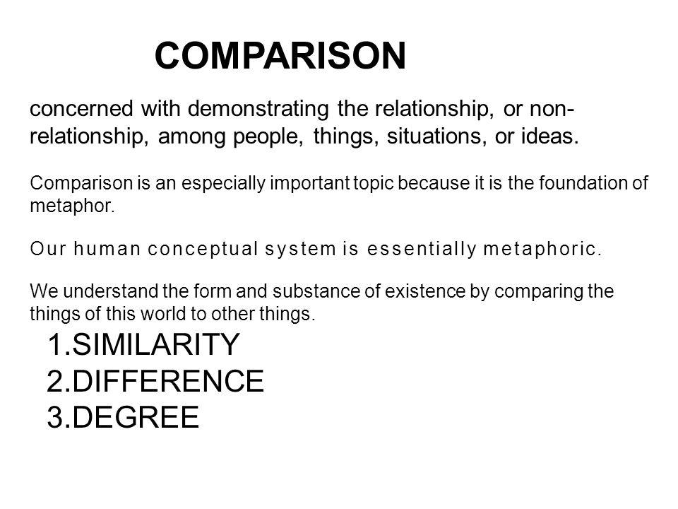 3 COMPARISON 1.