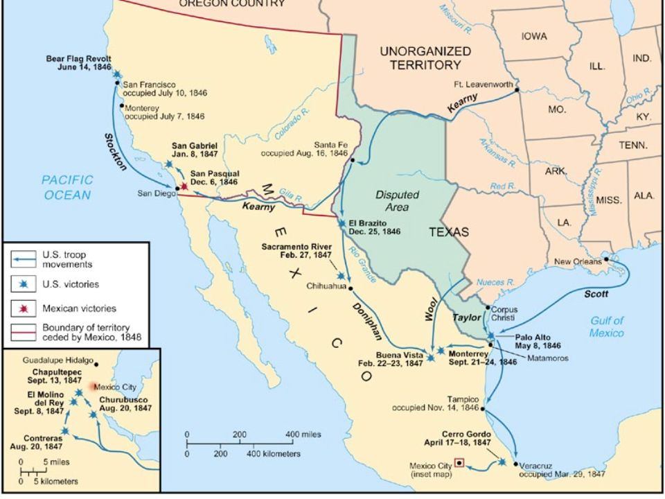 Texas Annexed US Border Rio Grande River Which Angered Mexico - Map of the rio grande river