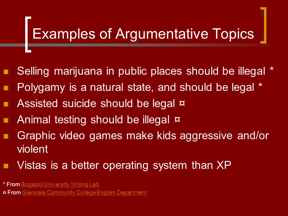 what is an argumentative essay is like a persuasive essay should 2 examples of argumentative topics selling marijuana