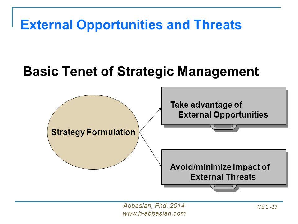 strategic management 2014