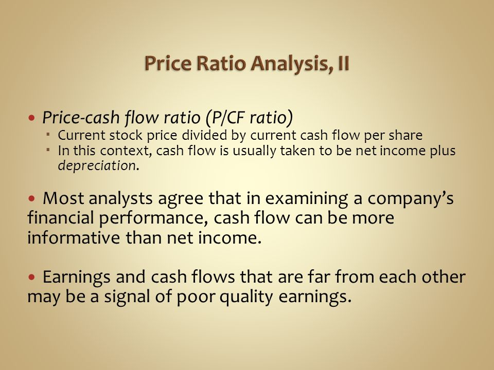 ratio analysis and statement cash flows ford and gm
