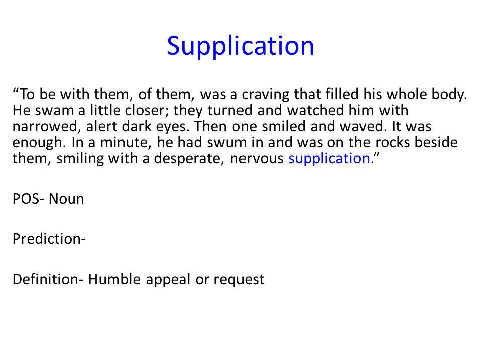 6 Supplication U201c ...