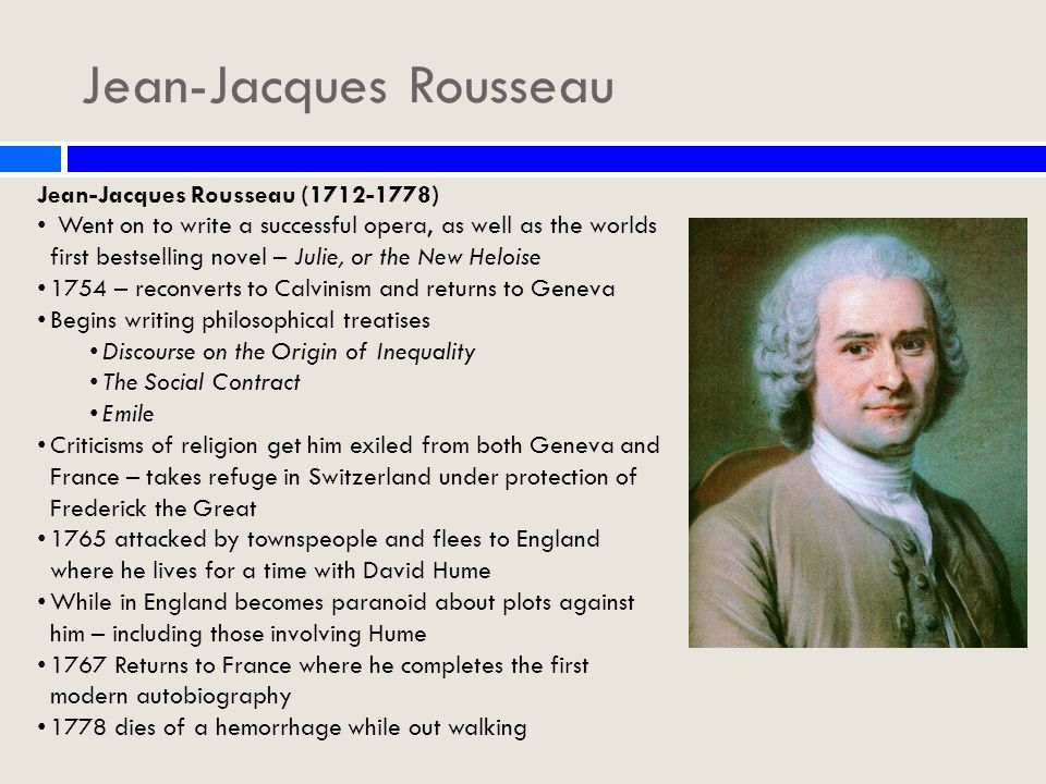 an analysis of jean jacques rousseaus the discourse of equality