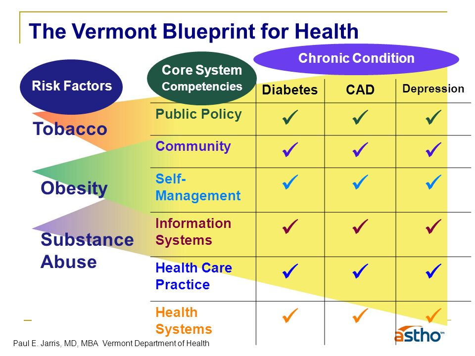 Public health and clinical medicine natural partners paul jarris information systems health care practice health systems chronic condition risk factors core system competencies the vermont blueprint for health paul e malvernweather Image collections